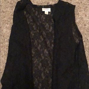 Lularoe black lace joy!